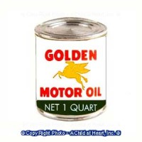 (§) Sale .50¢ Off - Dollhouse Motor Oil Can - Product Image