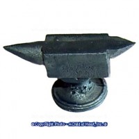 § Sale $2 Off - Dollhouse Gunmetal Anvil - Product Image