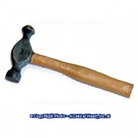 (§) Sale - Dollhouse Metal Ball Pein Hammer - Product Image