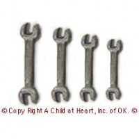 Sale $2 Off - Set of 4 Dollhouse Wrenches - Product Image