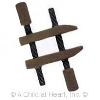 (§) Sale - Dollhouse Furniture Clamp - Product Image