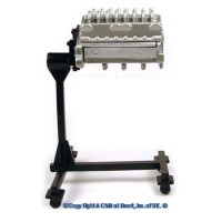 Sale $4 Off -  Dollhouse Engine Lift / Motor on Stand - Product Image