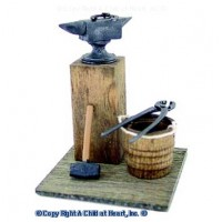 Dollhouse Blacksmith Set - Product Image