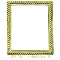 Sale - Dollhouse Rectangular Rope Frame - Product Image