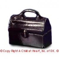 § Sale .50¢ Off - Large Dollhouse Doctor's Bag - Product Image