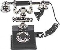 (**) Dollhouse 1920's Telephone - Product Image