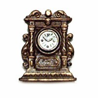 Sale - Dollhouse Delft Clock - Product Image