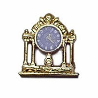 Sale - Dollhouse Cupid Mantel Clock - Product Image