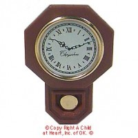 Dollhouse Schoolhouse Clock - Product Image
