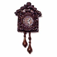 Sale - Dollhouse Cuckoo Clock - Product Image