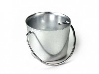 § Disc .60¢ Off - Dollhouse Silver Pail - Product Image