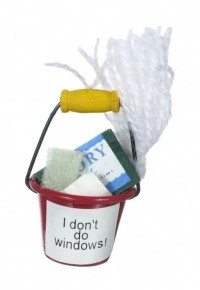 § Disc .30¢ Off - Dollhouse Filled Cleaning Bucket - Product Image