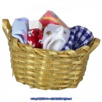 § Sale .40¢ Off - Dollhouse Laundry Basket - Product Image