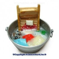 Dollhouse Washday Laundry - Product Image