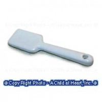 Sale - Metal Dollhouse Rubber Spatula - Product Image