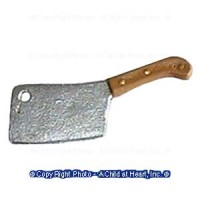 (*) Dollhouse Meat Cleaver - Product Image