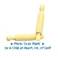 § Disc .20¢ Off - Set of 2 Rolling Pins - Product Image