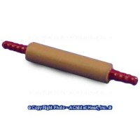 (*) Dollhouse Large Metal Rolling Pin - Product Image