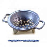 (*) Dollhouse Metal Colander - Product Image