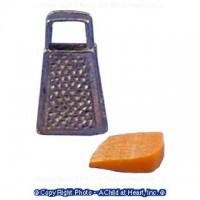 Dollhouse Grater with Cheese - Product Image