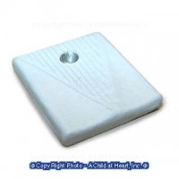 (**) Dollhouse Square Modern Bath Scale - Product Image