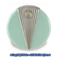 (*) Dollhouse Round Modern Bath Scale - Product Image