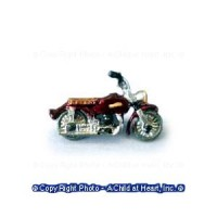 Unfinished Toy Motorcycle - Product Image