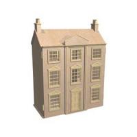Georgian House Dollshouse (Kit) - Product Image