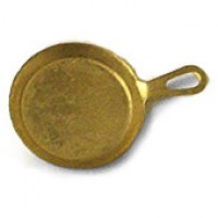 Disc .20? Off - Dollhouse Coppertone Fry Pan - Product Image