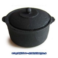 Dollhouse Dutch Oven/Soup Pot w/Lid - Product Image