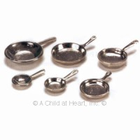 § Disc $2 Off - 6 pc Silver Pan Set - Product Image