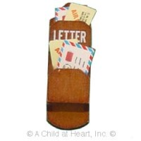 § Sale $1 Off - Dollhouse Wooden Mail Holder - Product Image