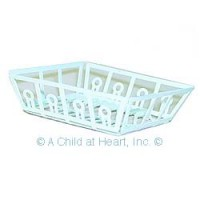 § Sale .60¢ Off - Empty White Dish Drainer - Product Image