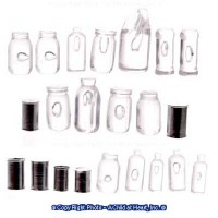 (*) 22 pc Potpourri Cans & Bottles - Product Image