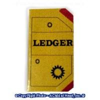 (*) Dollhouse Store Ledger - Product Image