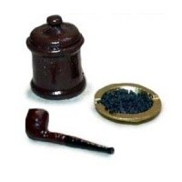 (§) Sale $3 Off - 3 pc Dollhouse Pipe Set - Product Image