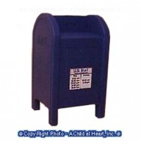 Sale $1 Off - Dollhouse U.S. Mailbox - Product Image