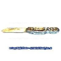 (*) Dollhouse Pen / Pocket Knife - Product Image