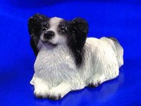 § Disc .60¢ Off - Dollhouse Black & White Papillon - Product Image