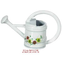 White Watering Can - Product Image