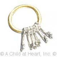 § Sale - Dollhouse Key Ring - Product Image