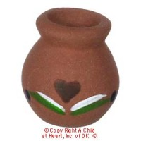 § Sale .40¢ Off - Terra Cotta Pot w/Design - Product Image