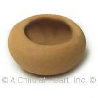 § Disc .30¢ Off - Small Round Clay Flower Pot - Product Image