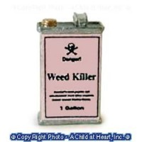 § Sale .60¢ Off - Dollhouse Weed or Bug Killer Can - Product Image
