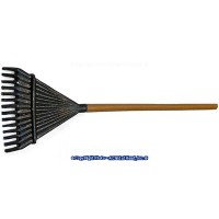 (**) Dollhouse Leaf Rake - Product Image