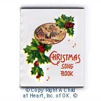Readable Dollhouse Christmas Song Book - Product Image