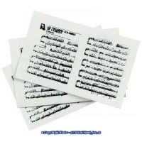 § Sale .20¢ Off - 3 pc Dollhouse Sheet Music - Product Image