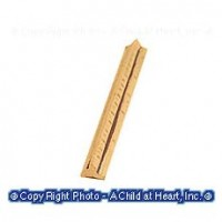 Dollhouse Miniature Ruler - Product Image