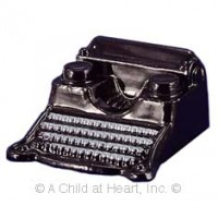 Black Vintage Typewriter - Product Image