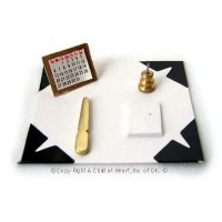 § Sale .70¢ Off - Desk Blotter Set - Product Image